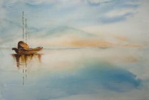 Calme maritime